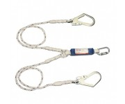 PROTECTA FIRST 1390398 TWIN SHOCK ABSORBING LANYARD