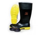 Safety Rubber Boot Wayna Inyati Black PVC-1310