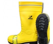 Safety Rubber Boot COUGAR GUMBOOT YELLOW-1911