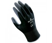 Showa B0500 Black Palm Fit polyurethane Glove