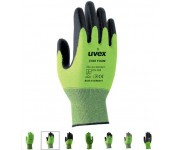 Uvex Helix C500 cut protection safety gloves