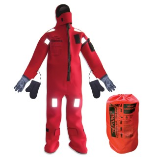 LALIZAS Immersion Suit Insulated Neptune SOLAS Universal 70454