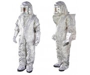 Aluminized Fire Entry Suit Fireman w/ SCBA